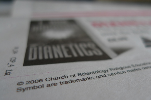 Scientology - small print