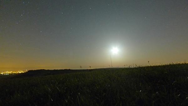 Moon Over Devils Dyke