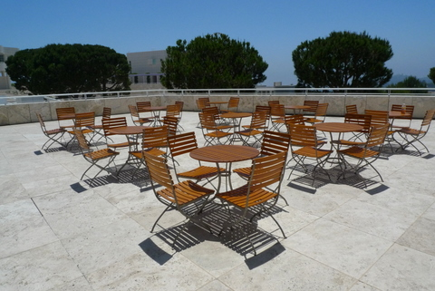 Chairs at The Getty