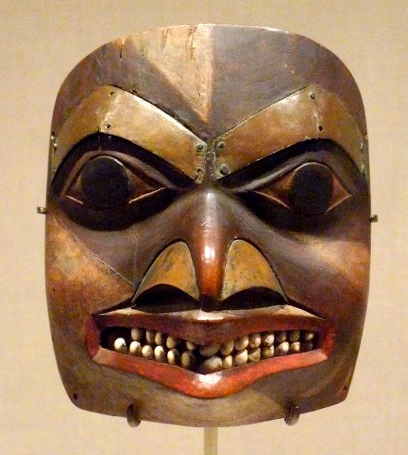 Forehead Mask, British Colombia or Alaska, 1840