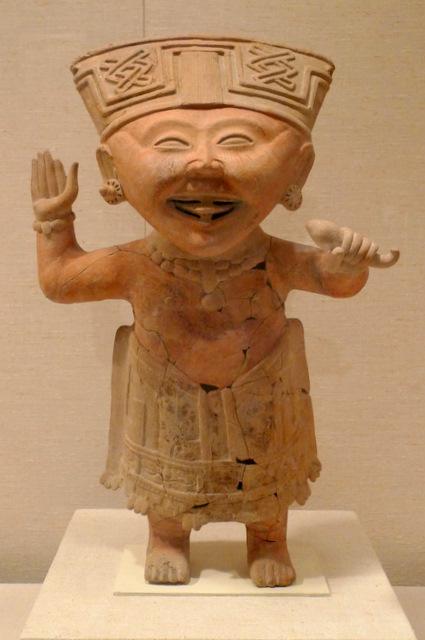 Smiling Figure, Mexico, Remojadas, 7th-8th Century