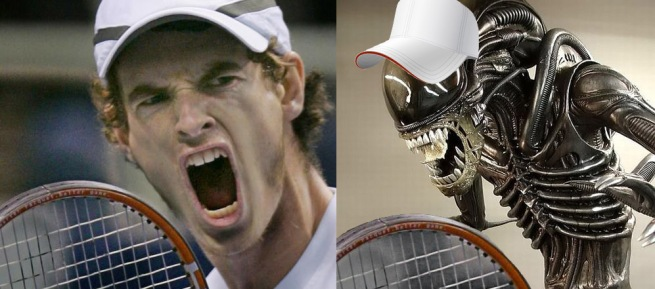 The Alien - - - - - - - - - - Andy Murray