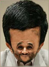 Mr Ahmadinejad Silly Balloonhead
