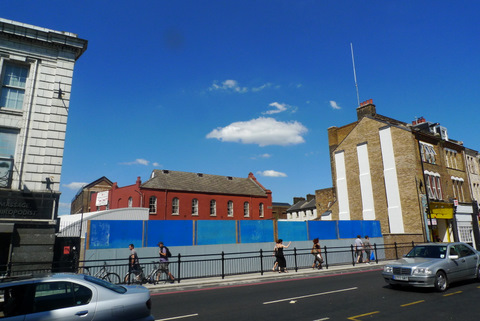 Dalston is losing buildings like a boxer loses teeth