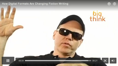 How Digital Formats Are Changing Fiction Writing, Bret Easton Ellis, Big Think