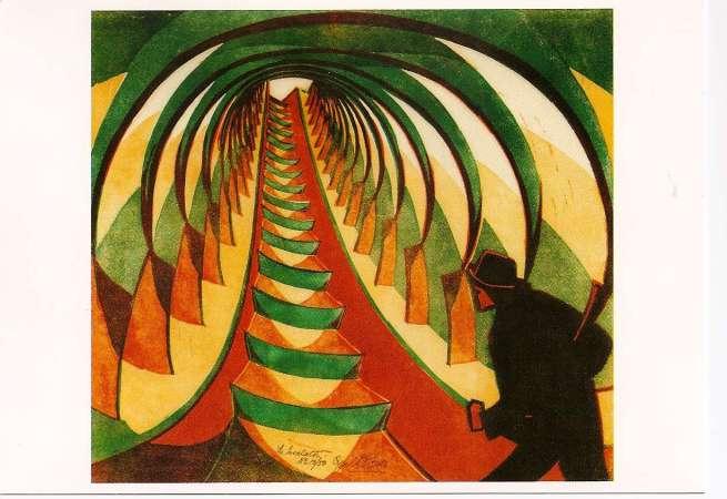 The Escalator, Cyril E. Power