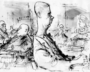 men drinking at a bar in Berlin