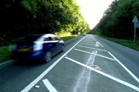 New Road Markings on Mill Road, Brighton