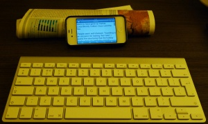 iphone & keyboard