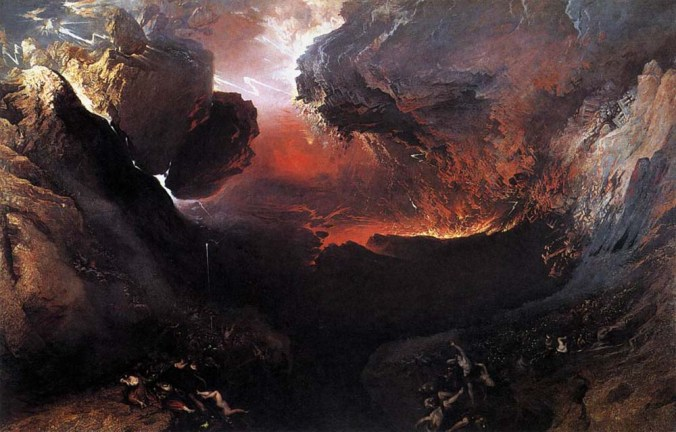 The End of the World as portrayed by John Martin