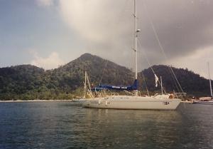 Elan Adventurer, Ko Phi Phi, 1991