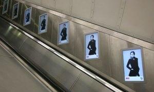Adverts on the Underground