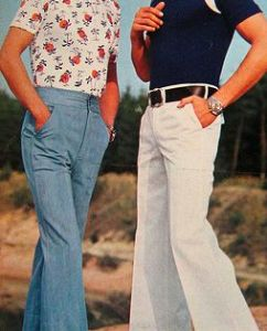 Are flared trousers pants?